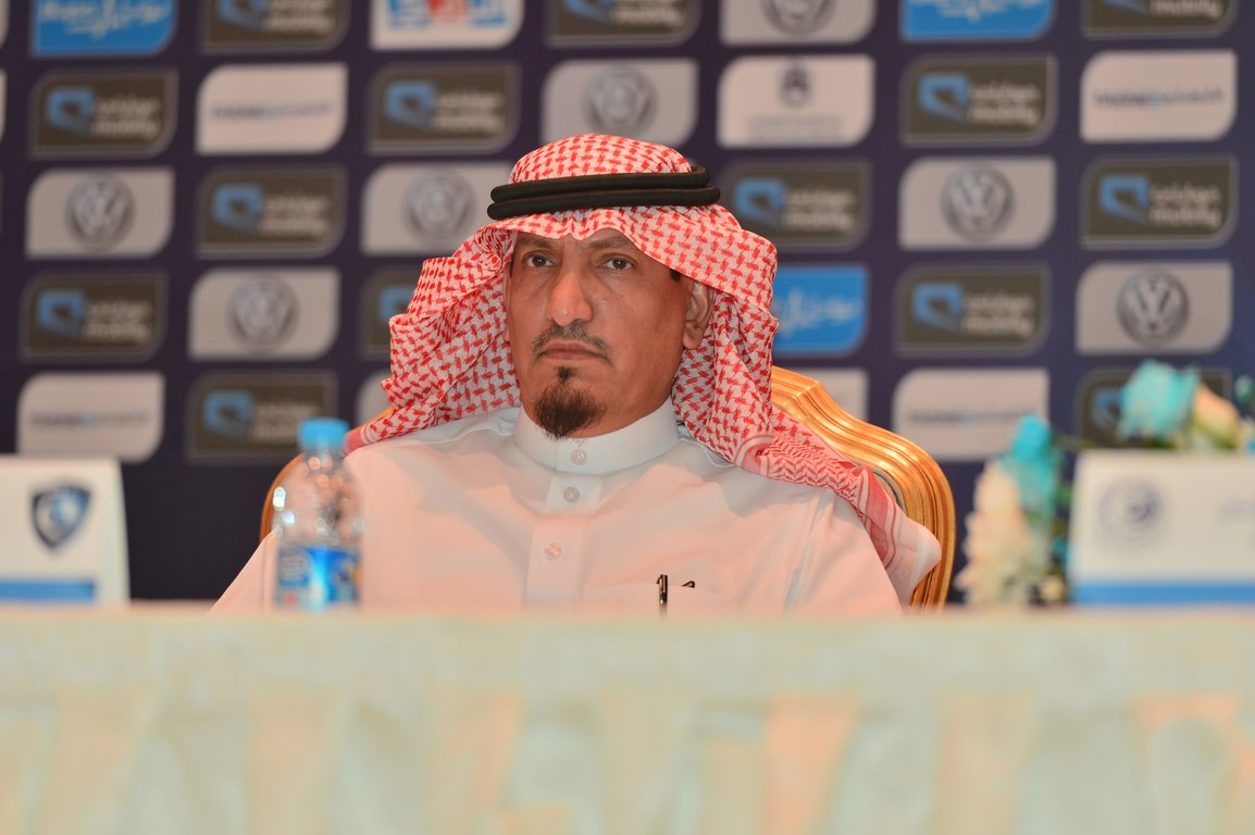 نائب رئيس الهلال السعودي يوضح رأيه في استبعاد الحبسي
