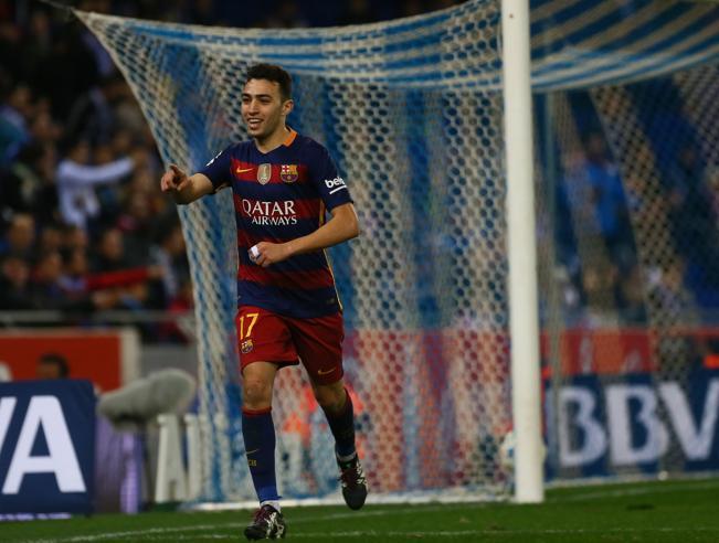 برشلونة يقترب  من تجديد عقد مهاجمه الشاب  ?i=news%2fmunir_elhaddadi_652016