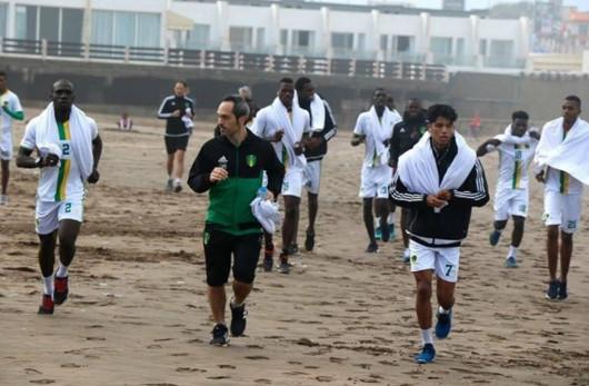 بالصور: حصة تدريبية خاصة للمحلي الموريتاني
