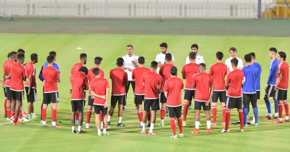 مدرب الإمارات الأوليمبي: تجمع العين فرصة لتصحيح السلبيات