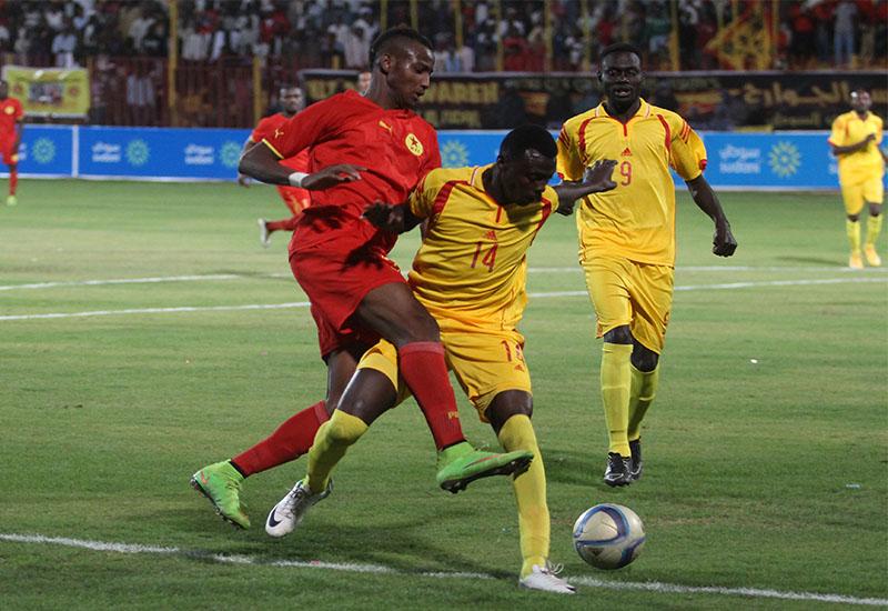 الدوري الممتاز السوداني مباراة المريخ ومريخ كوستي