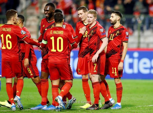 بلجيكا تسحق قبرص وتحقق العلامة الكاملة في تصفيات اليورو