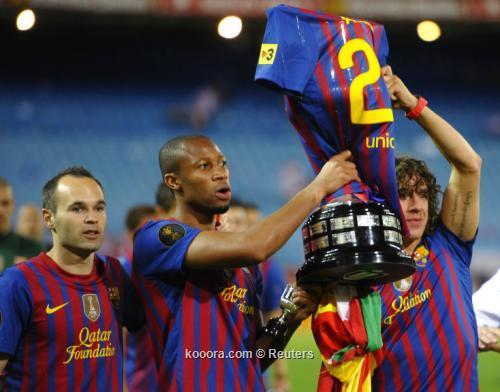 نجم برشلونة السابق يطالب بالثلاثية