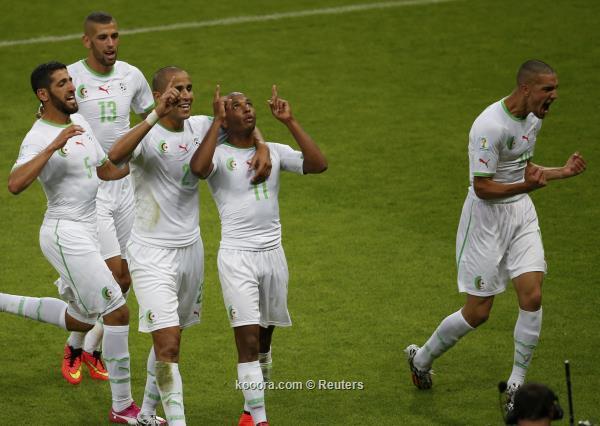 الجزائر تتصدر ترشيحات فرانس فوتبول