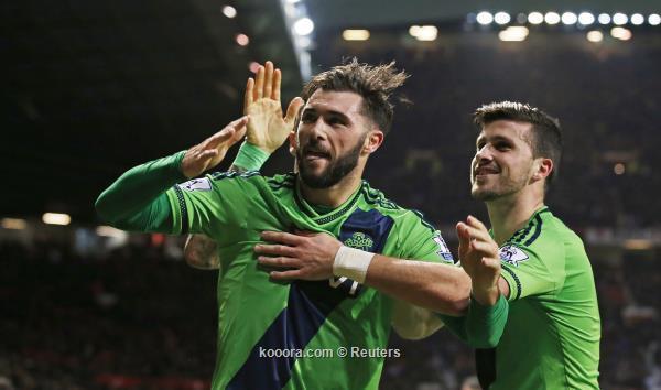 ساوثامبتون يسقط مانشستر يونايتد في الوقت القاتل