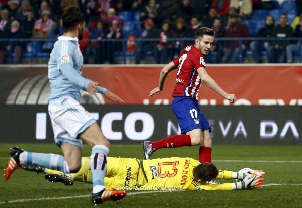 سلتا فيجو يفجر المفاجأة ويطيح أتلتيكو مدريد من كأس ملك أسبانيا