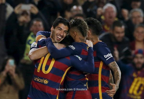 كأس ملك إسبانيا : برشلونة يتجاوز أتلتيك بلباو إلى نصف النهائي