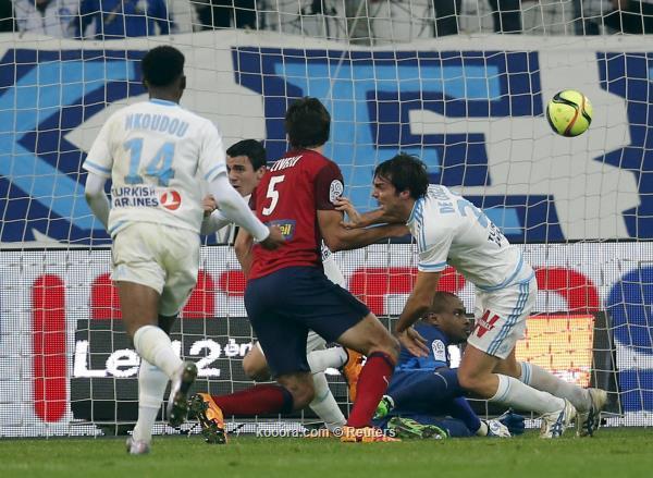 ليل يتعادل مع مارسيليا في الدوري الفرنسي<br />