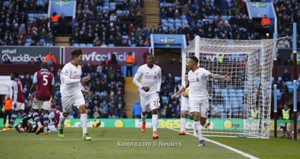 الدوري الانجليزي ليفربول يسحق أستون فيلا بسداسية