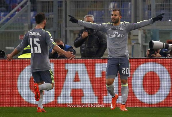 ابطال اوروبا : ريال مدريد يهزم روما ويضع قدماً في دور الثمانية