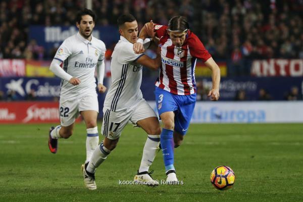فيليبي لويس يرفض الاعتراف بأفضلية ريال مدريد