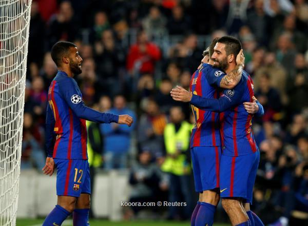 برشلونة يحطم رقمه القياسي في دوري أبطال أوروبا