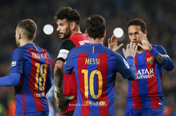 4 مشاهد تثير القلق بعد فوز برشلونة على ليجانيس