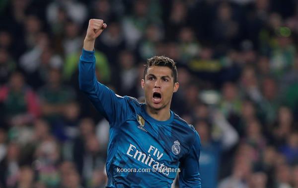 كريستيانو رونالدو يعادل رقم أسطورة ريال مدريد