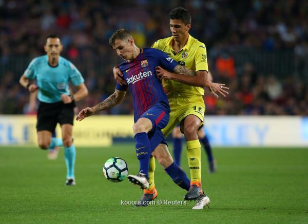 برشلونة يقسو فياريال بخماسية (أهداف