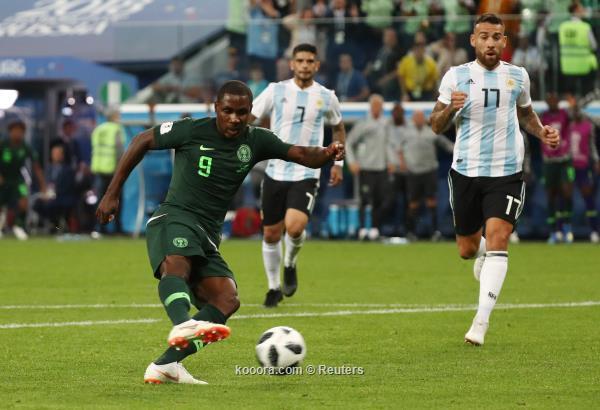الارجنتين النهائي بفوز نيجيريا بالوقت