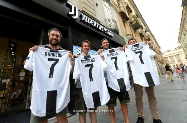قميص رونالدو يحطم جميع أرقام مبيعات يوفنتوس