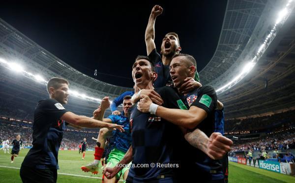 كرواتيا تقهر انجلترا وتصل النهائي