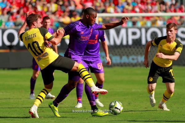 بالصور: دورتموند يهزم ليفربول بثلاثية في كأس الأبطال