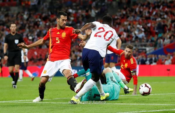 الماتادور الإسباني الثلاثة (ألاهداف+ملخص المباراة)