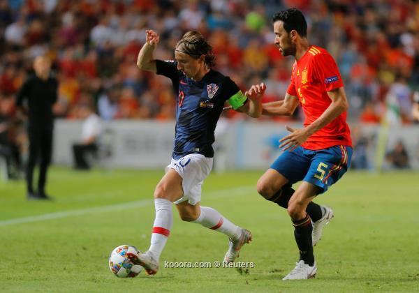 بسداسية (ألاهداف+ملخص المباراة) اسبانيا كرواتيا