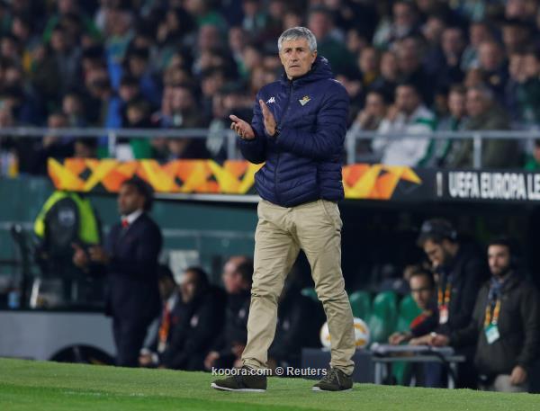 مدرب بيتيس يحذر من رحيل لاعبه إلى ريال مدريد