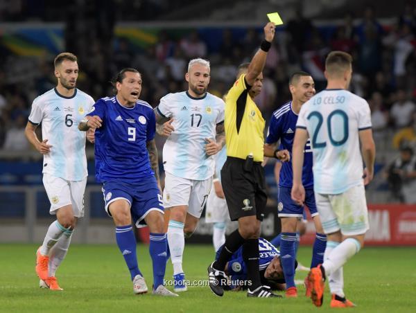 بالصور: باراجواي تزيد معاناة الأرجنتين