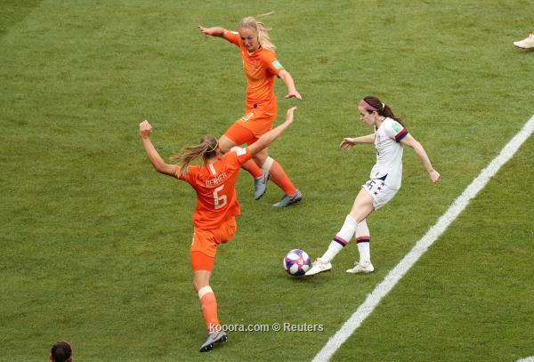 بالصور: أمريكا تقهر هولندا وتتوج