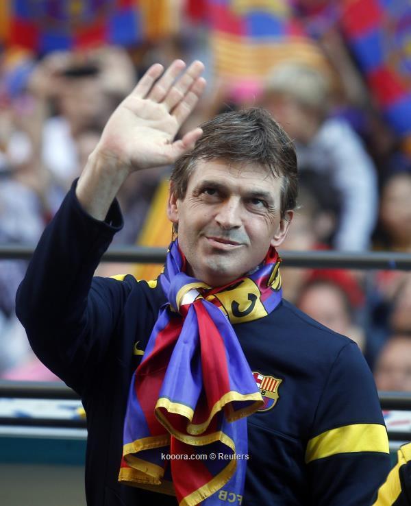 وفاة تيتو فيلانوفا مدرب برشلونة السابق.