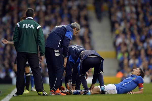 بالصور إصابة عنيفة تحرم مونتوليفو اللعب بالمونديال