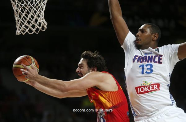 فرنسا تفجر مفاجأة وتطيح بإسبانيا مونديال السلة
