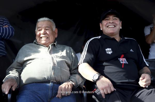 وفاة والد مارادونا يناهز عاما