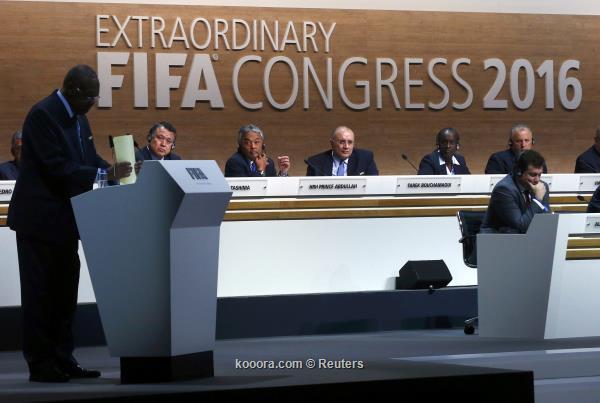 السويسري انفانتينو رئيسا جديدا للفيفا 2016-02-26t094722z_2