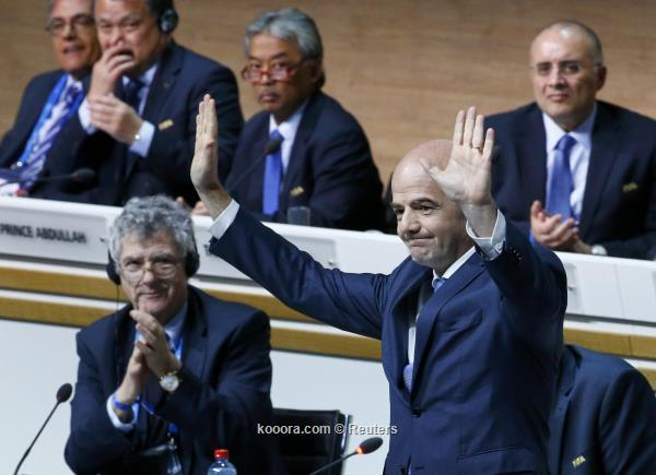 السويسري انفانتينو رئيسا جديدا للفيفا 2016-02-26t172515z_1