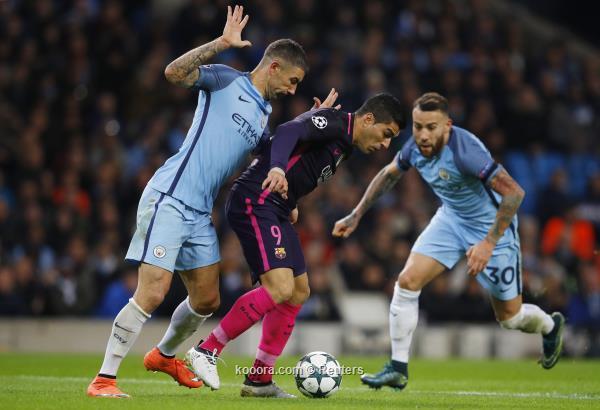 مانشستر سيتي يقلب الطاولة برشلونة