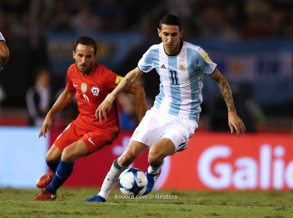 الثأر يمنح لقاء الأرجنتين وتشيلي