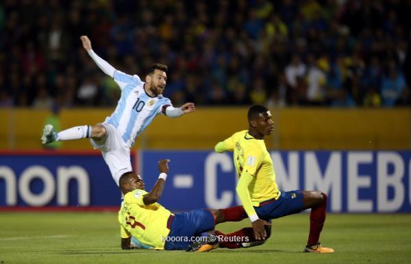 بالصور: ميسي ينقذ الأرجنتين ويلحق بالصور: ميسي ينقذ الأرجنتين ويلحق