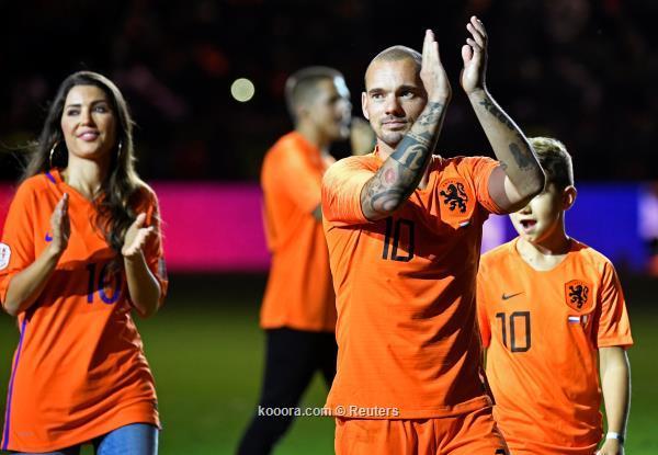 هولندا تودع شنايدر باحتفال مهيب