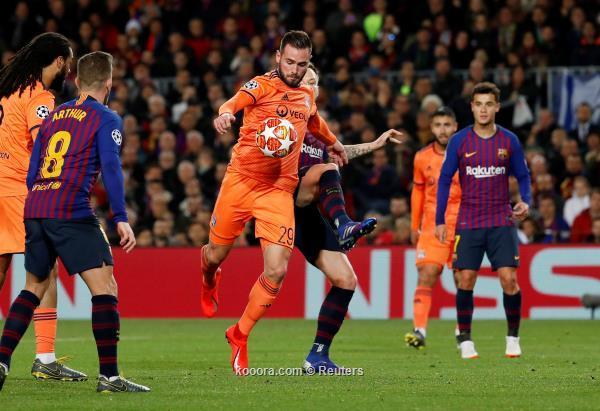 برشلونة يروض ليون بخماسية ويبلغ ربع نهائي دوري الأبطال