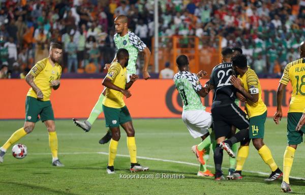 نيجيريا تخطف جنوب أفريقيا الوقت