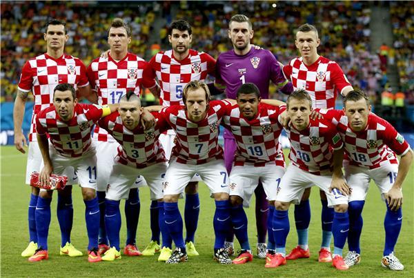 المنتخب الكرواتى