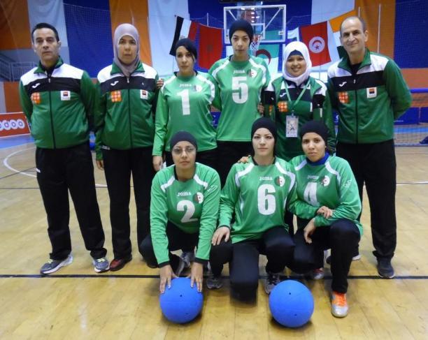 نتيجة بحث الصور عن كرة الجرس الجزائر الفريق النسائي