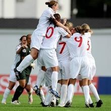 منتخب انجلترا للشابات يهزمن السويد ويتوجن ابطالا لأوروبا للشابات تحت 19 سنة