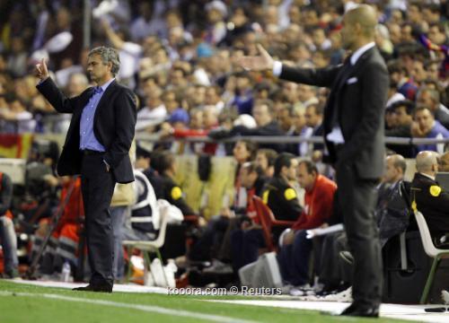 جوارديولا ومورينيو يرفضان فكرة الصراع الثنائي في دوري اسبانيا