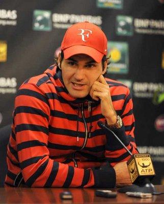 فيدرير: لا أعرف كيف لا يعاقب نادال على إهدار الوقت في المباريات