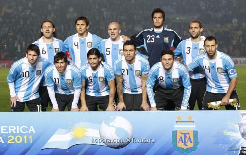 الأرجنتين تبدأ الاستعداد لموقعة الإكوادور بدون ميسي