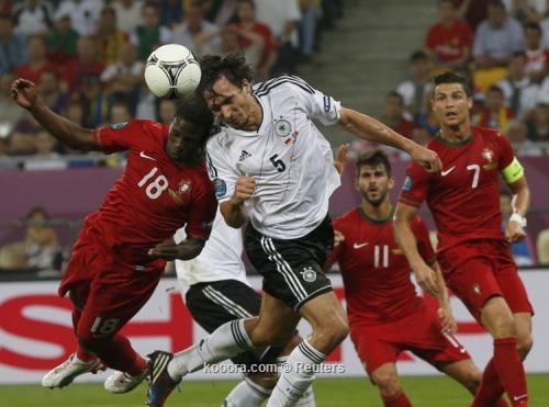 المنتخب البرتغالي يتسلح بالتفاؤل قبل لقاء الدنمارك غداً