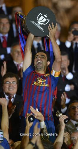 بالصور .. برشلونة يودع جوارديولا بفرحة التتويج بكأس الملك