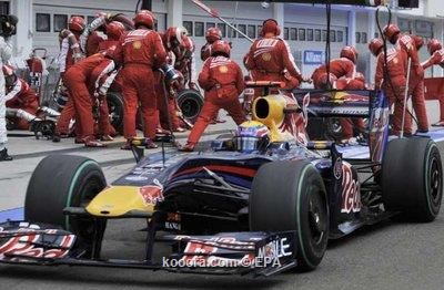 براون يأمل في ارتفاع الحرارة بسباق فورمولا *1 المجري