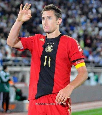 ميروسلاف كلوزه ينضم إلى منتخب ألمانيا رغم إصابته